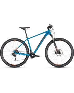 Cube Attention SL 2019 Bike - Blue/Orange