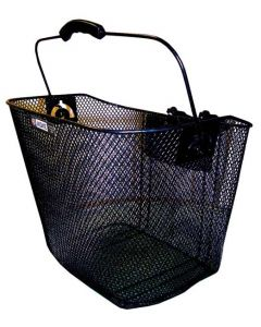 Adie Front Mesh Basket with QR Bracket