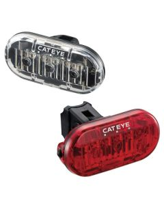 Cateye Omni 3 Front and Rear Light Set