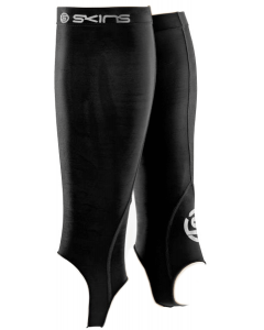 Skins Essentials Mens Compression Calf Tights With Stirrups