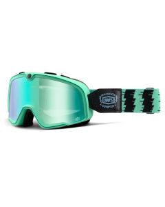 100% Barstow Goggles - Ornamental Conifer - Mirror Green Lens