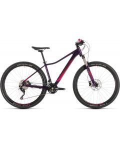 Cube Access WS Race 2019 Womens Bike - Aubergine/Berry