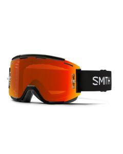 Smith Squad MTB 2019 Goggles - Black/ChromaPop Everyday Red Mirror