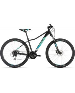 Cube Access WS EAZ 2019 Womens Bike - Black/Aqua