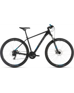 Cube Aim 2019 Bike - Black/Blue