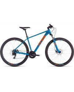 Cube Aim Pro 2019 Bike - Blue/Orange