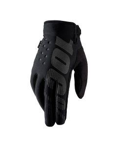 100% Brisker Cold Weather Gloves - Black