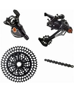 Box One Prime 9 Speed Multi Shift X-Wide Groupset