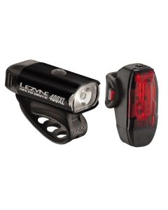 Lezyne Hecto 400 / KTV 10 Front and Rear Light Set