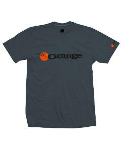 Orange Corporate T-Shirt - Charcoal