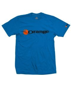 Orange Corporate T-Shirt - Blue
