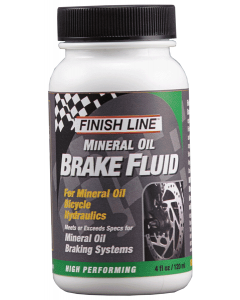 Finish Line Mineral Oil Brake Fluid 4oz