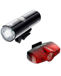 Cateye Volt 400 XC Front and Rapid Mini Rear Light Set