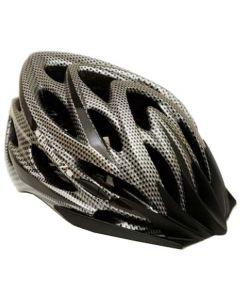 HardnutZ High Vis Carbon Fibre MTB/Road Helmet