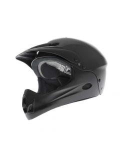 DiamondBack Junior Full Face Helmet - Black, Medium