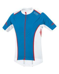 Gore Xenon S Jersey - Splash Blue/White/Red -  Small