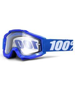 100% Accuri Enduro Dual Lens Goggles - Reflex Blue