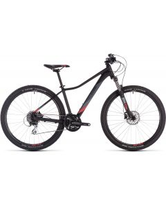 Cube Access WS EXC 2019 Womens Bike - Black/Coral