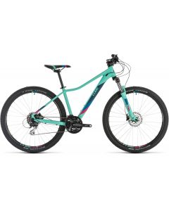 Cube Access WS EXC 2019 Bike - Mint/Berry