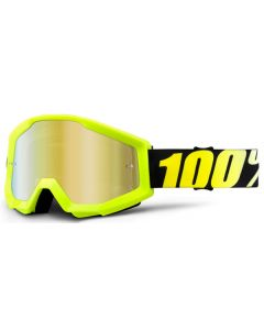 100% Strata Mirrored Goggles