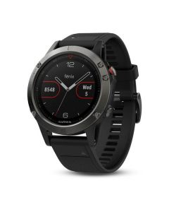 Garmin Fenix 5 GPS Watch - Slate Grey/Black