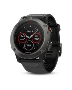 Garmin Fenix 5X Sapphire GPS Watch - Slate Grey/Black
