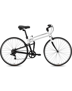 Montague Urban Folding Bike - White/Black 17