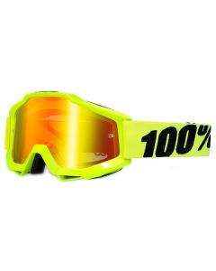 100% Accuri Goggles - Fluorescent Yellow