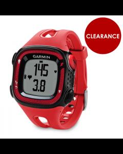 Garmin Forerunner 15 HRM GPS Watch Bundle
