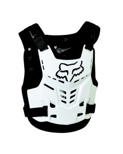 Fox Proframe LC Chest Protector - White