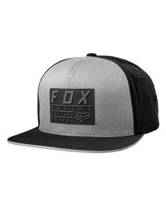 Fox Redplate Tech 2018 Snapback Hat - Steel Grey