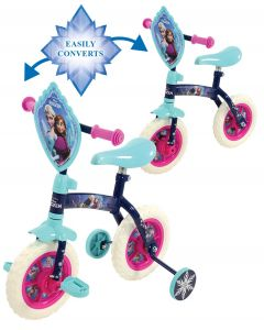 Frozen 2-in-1 10-Inch Kids Training Bike