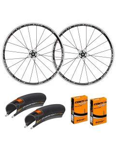 Fulcrum Racing 5 LG Aluminium Wheelset with FREE Tyres & Tubes