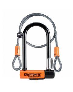 Kryptonite Evolution Mini 7 U-Lock with 4ft Kryptoflex Cable