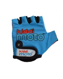 Kiddimoto Cycling Gloves - Blue