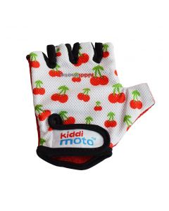Kiddimoto Cycling Gloves - Cherry