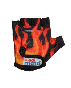 Kiddimoto Cycling Gloves - Flames