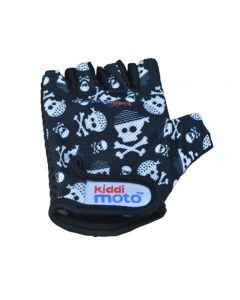 Kiddimoto Cycling Gloves - Skullz