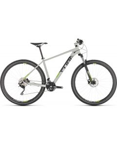 Cube Attention 2019 Bike - Grey/Green