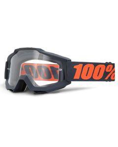 100% Accuri Goggles - Gun Metal