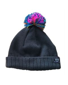 Peaty's Subtle Rainbow Bobble Hat