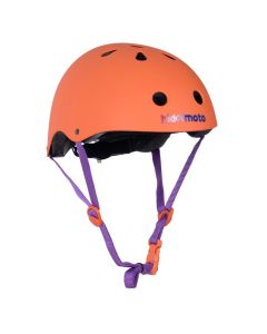 Kiddimoto Helmet - Matte Orange