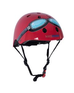 Kiddimoto Helmet - Red Goggle