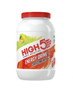 High5 Energy Drink Caffeine Hit - 1.4kg Tub - Citrus