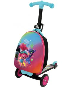 Trolls 2 3-in-1 Scootin Suitcase Kids Scooter