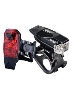 Infini Mini Lava Front and Rear Light Set