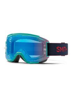 Smith Squad MTB 2019 Goggles - Jade/ChromaPop Contrast Rose Flash