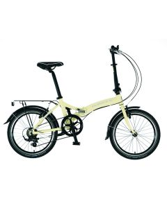 Dawes Kingpin 2018 Folding Bike - Ivory