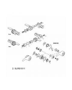 SRAM TT500/TT900 Shifter Spring Kit