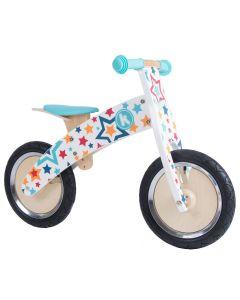 Kiddimoto Kurve 12-inch Balance Bike - Stars